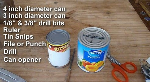 diy wood stove for backpacking