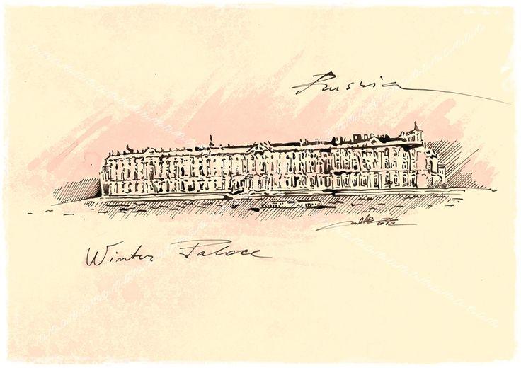 The Winter Palace Saint Petersburg, Russia