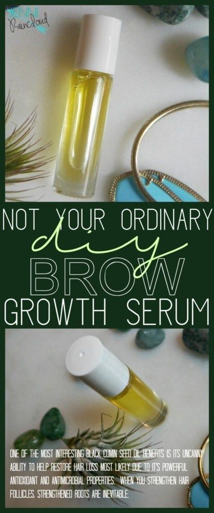 Brow Growth Serum on Steroids!