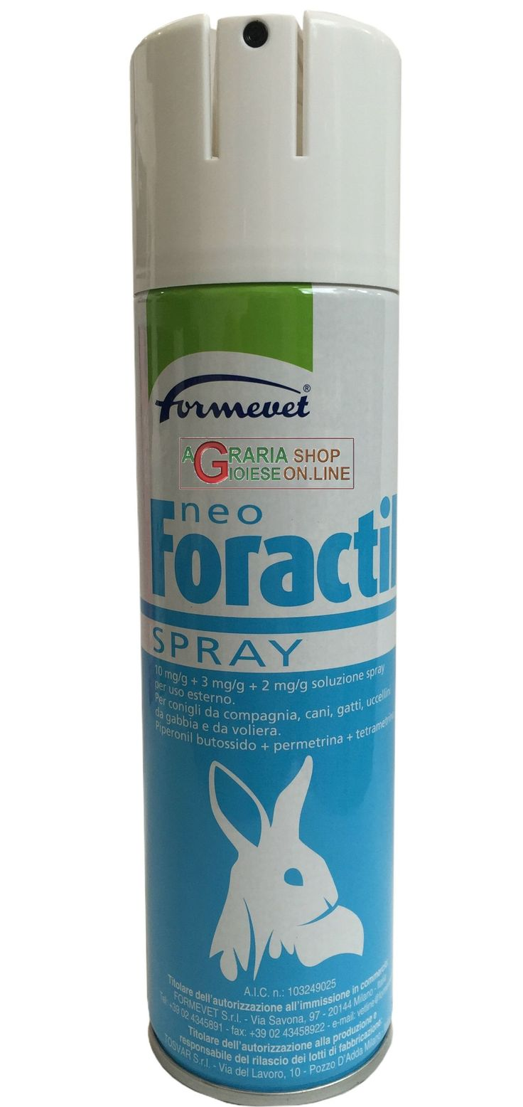 NEO-FORACTIL ANTIPARASSITARIO INSETTICIDA ACARICIDA SPRAY CONIGLI ML. 250 https://www.chiaradecaria.it/it/attrezzature-conigli/13131-neo-foractil-antiparassitario-insetticida-acaricida-spray-conigli-ml-250-8033638270066.html