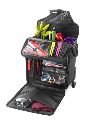 the ultimate rolling tote for organizing all your beauty supplies - Freelance Hairstylist