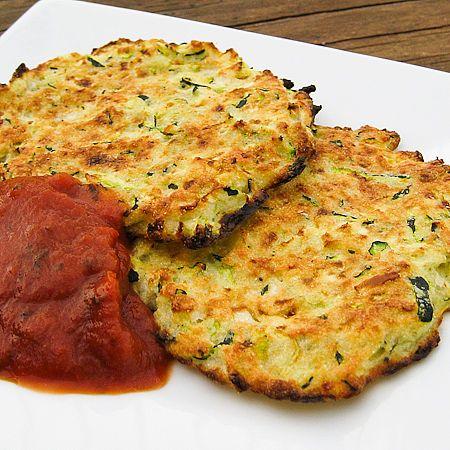 Zucchini Fritters #zucchini