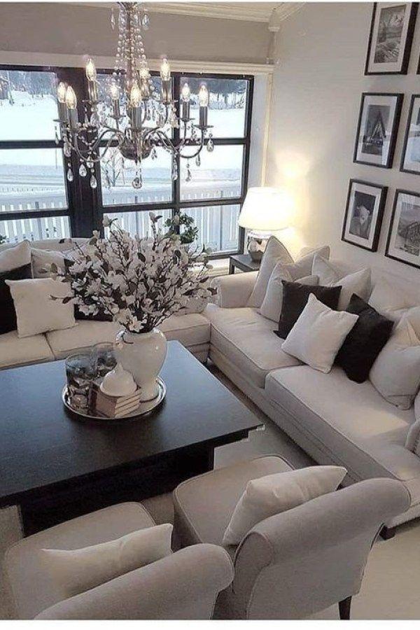 47 Cozy Black And White Living Room Design Ideas Black And White Living Room Decor Black And White Living Room Beige Living Rooms
