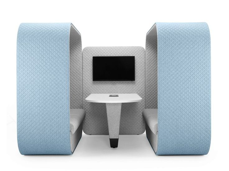 COCOON MEDIA UNIT Office booth by Boss Design
