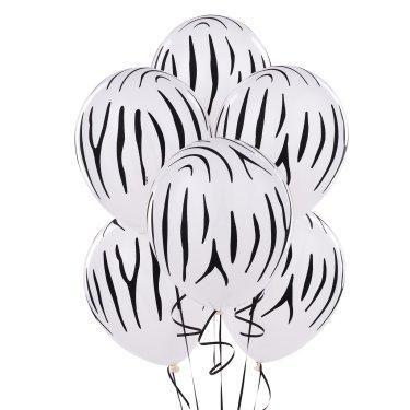 Zebra balloons! #Zebra #Zou #Party #Balloons #Birthday