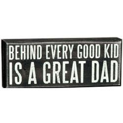 Great Dad Box Sign