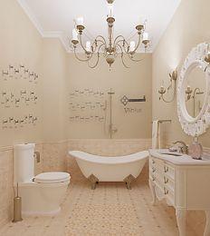 цвет пола и стен в ванной