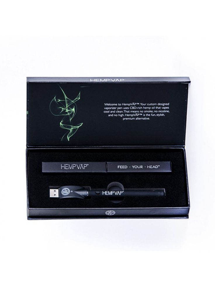 HempVap® Unflavored CBD Hemp Oil Vaporizer Starter Kit