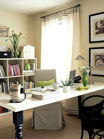 Get Creative with my office space and color flow...I'm ready to move in.: Decor, Offices Design, Diy Desks, Crafts Rooms, Offices Spaces, Offices Ideas, House, Homes, Home Offices
