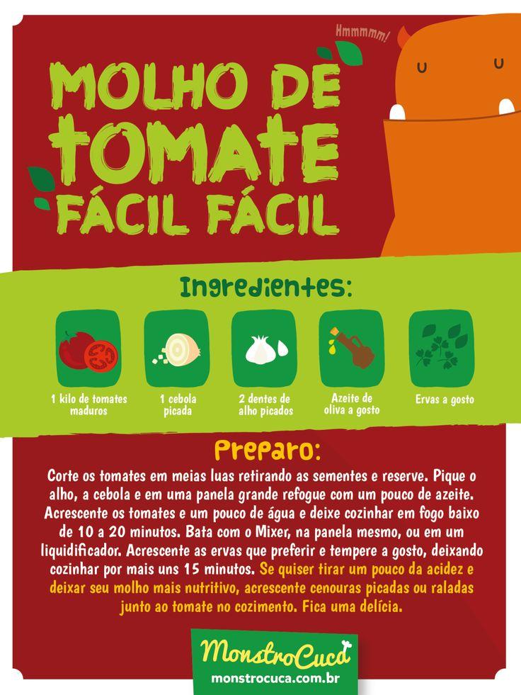 Para deixar aquela macarronada ou lasagna muito mais saborosa, nada melhor que um molho saudável e gostoso feito em casa.