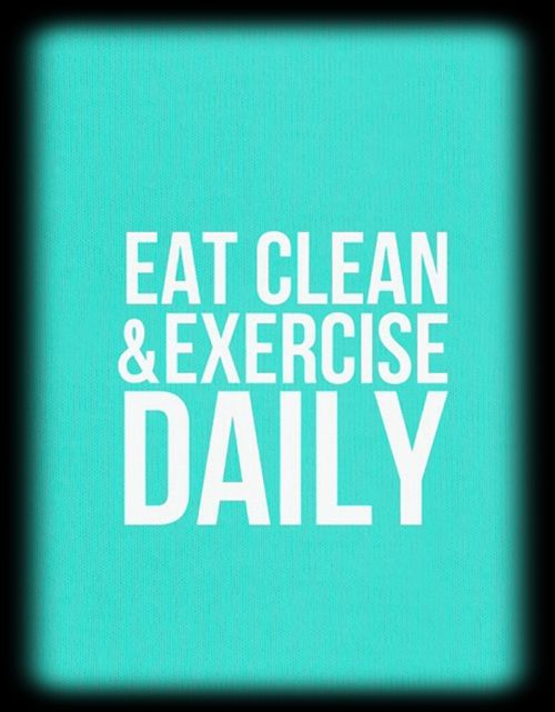 Rules to live by in having a health life!