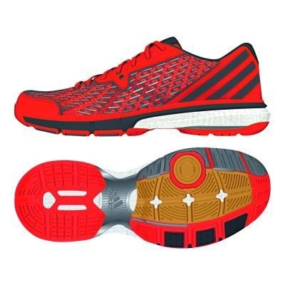 adidas Volley Boost ROT M19909 Grösse: 41 1/3 - http://on-line-kaufen.de/adidas/41-1-3-adidas-handball-spezial-herren-blau-royal-48