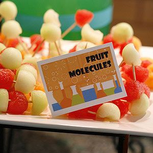 Make it a game with pictures of molecules that they have to duplicate with tooth picks and coloured marshmallows