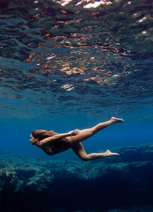 подводное эротическое плавание - 8