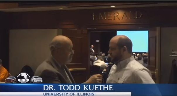 In this Agribusiness Today interview, Stu Ellis speaks to Dr. Todd Kuethe about Farmland Prices and the effect of raised interest rates.  Click below to watch! http://www.agriculturereporting.com/agribusiness-today-video-12-19-2016/ #tpsl #ag #cornbelt #lab #agriculture #Agronomics #Farm #Farming #Farmers