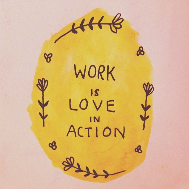 (Social) Work Is Love In Action
