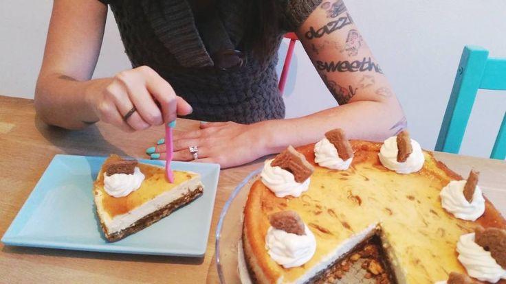 Recept voor Sint Speculoos #Cheesecake: http://www.haremaristeit.nl/sint-speculoos-cheesecake/