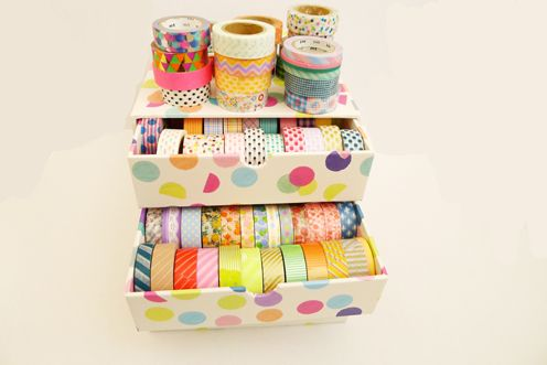 My Life As A Magazine: Studio Stories: Mt/Washi Tape Collection