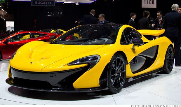 McLaren unveils $1.1 million hybrid supercar