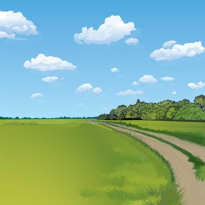 Summer Landscape Background - FREE