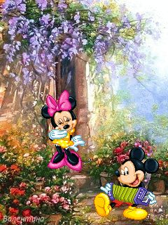 ❤️Mickey and Minnie Mouse