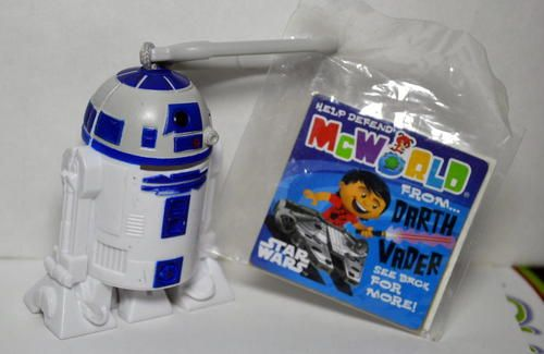 McDonald's 2010 Star Wars R2D2 Toy #7 pre-owned