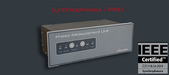 Phasor Measurement Unit - PMU - C37.118 - ROCOF - Synchrophasor - Vizimax
