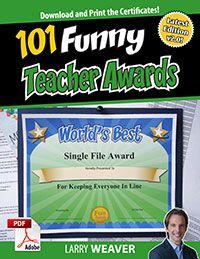 Fun Awards for Teachers