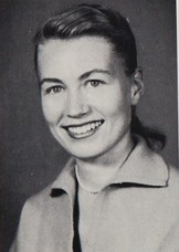 Teacher Barbara Holman in the 1958 yearbook of Beverly Hills high school in Beverly Hills, California.  #1958 #BeverlyHills #yearbook