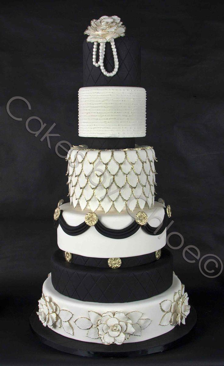 Black and white wedding cake 476 best