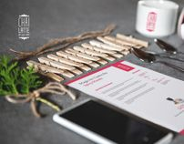 Chai Latte by Mateusz Waliszewski, via Behance
