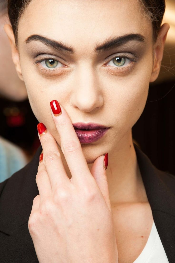 Makeup Trends for Fall-Winter 2015/2016 - Marc Jacobs runway beauty look