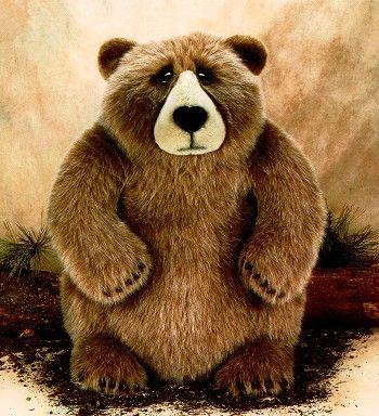 Lou Rankin Jasper Senior Stuffed Plush Bear