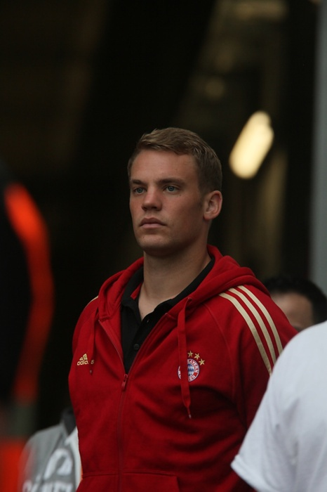 Manuel Neuer, sexy man is sexy.