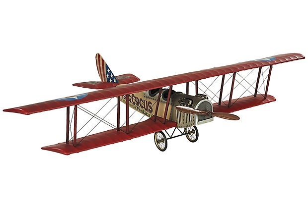 An authentic Flying Jenny model!