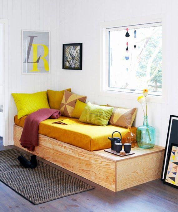 Não existe material ruim: ideias pra usar compensado em móveis - dcoracao.com - blog de decoração