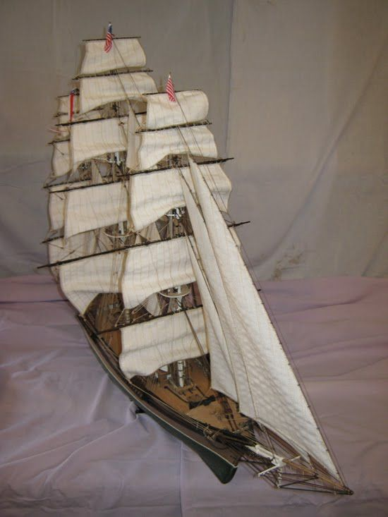 Hajómodell, Bellona, Bounty, Flying Cloud, Pandora, hajó makett, ship mo...