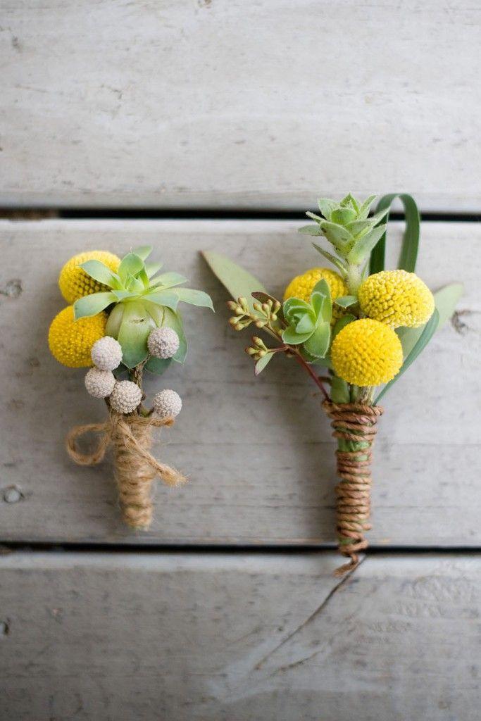 Decora con Billy Balls o Craspedias, la flor del verano | El Blog de SecretariaEvento
