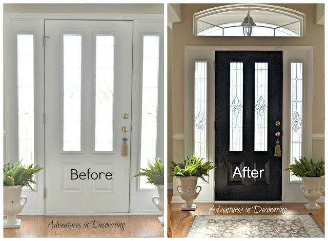 How To Paint A Front Door best 25+ paint doors black ideas on pinterest | black interior