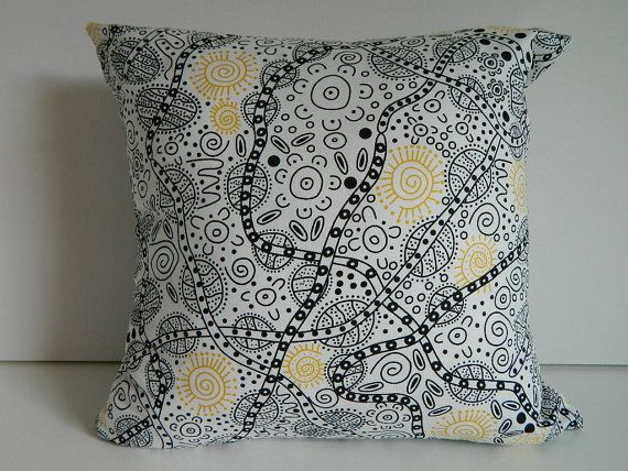 ABORIGINAL DESIGN CUSHION Covers genuine by PhotographicTextiles