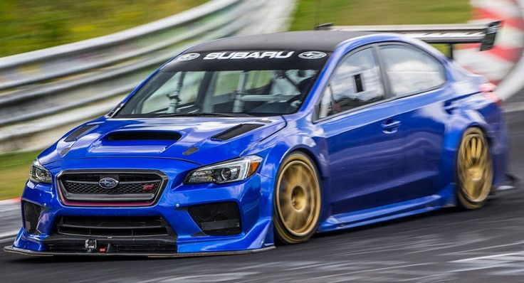 Subaru Sets A New Nurburgring Lap Record For Four-Door Sedans #Nurburgring #Record