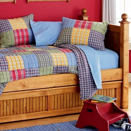 Boys Plaid Bedding - Adorable Plaid Comforters and Quilts