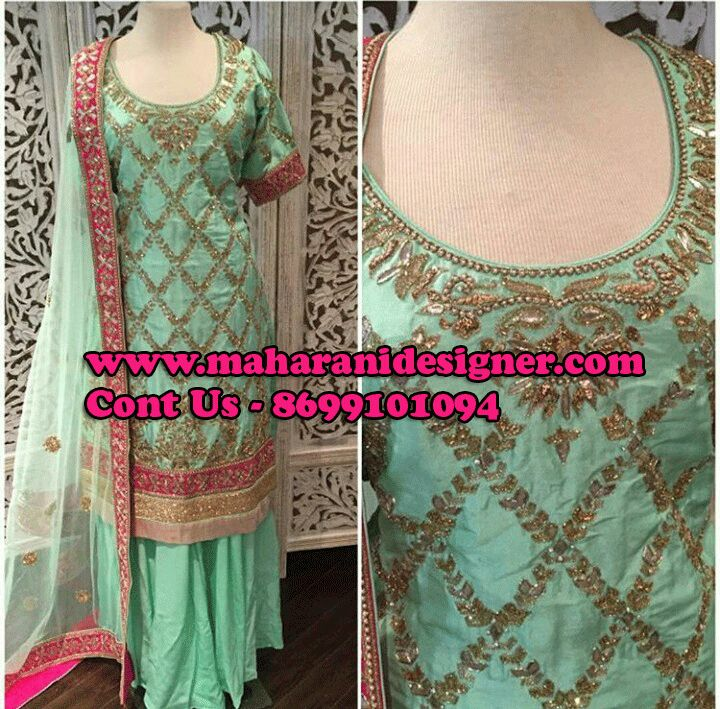 #NewCollectionOfSalwarSuit #PartyWearsalwarSuitOnline #StylishSalwarsuitOnline #DesignersalwarsuitOnline Maharani Designer Boutique  To buy it click on this link http://maharanidesigner.com/Anarkali-Dresses-Online/salwar-suits-online/ Rs-11800 Pure Silk  Hand Work  Available in All Colors Fine Quality fabric  For any more information contact on WhatsApp or call 8699101094 Website www.maharanidesigner.com