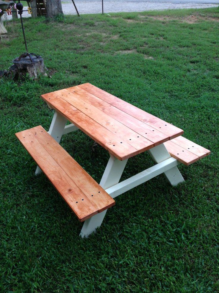 best 25 kids picnic table ideas on pinterest diy kids furniture kids picnic crafts and kids. Black Bedroom Furniture Sets. Home Design Ideas