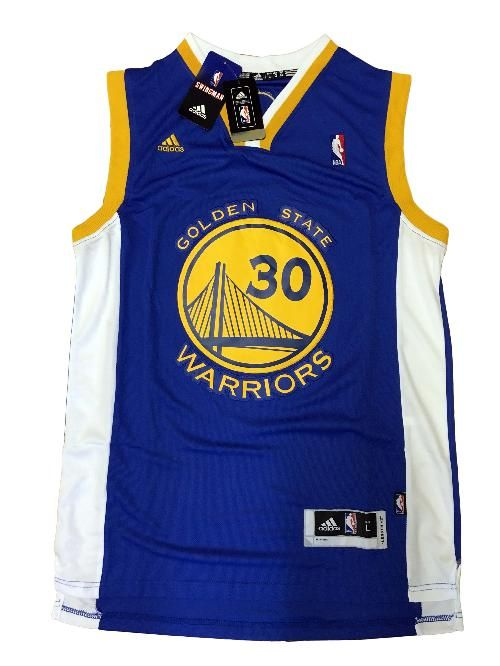 Maglia canotta NBA - Stephen Curry dei Golden State Warriors - Colore Blu
