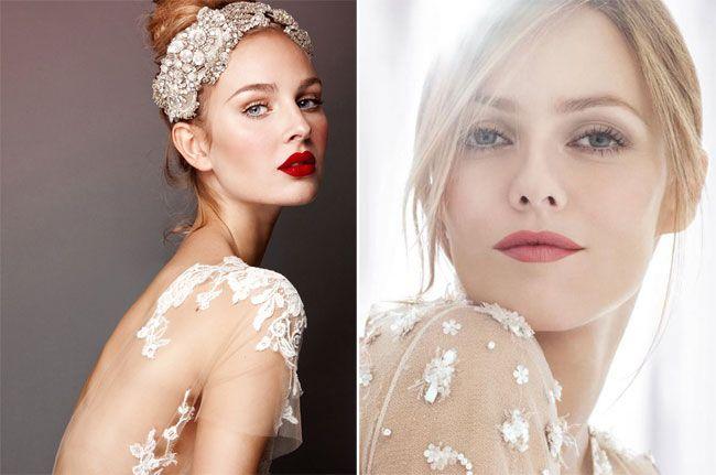 Famoso Oltre 25 fantastiche idee su Make up sposa rossetto rosso su  KK21