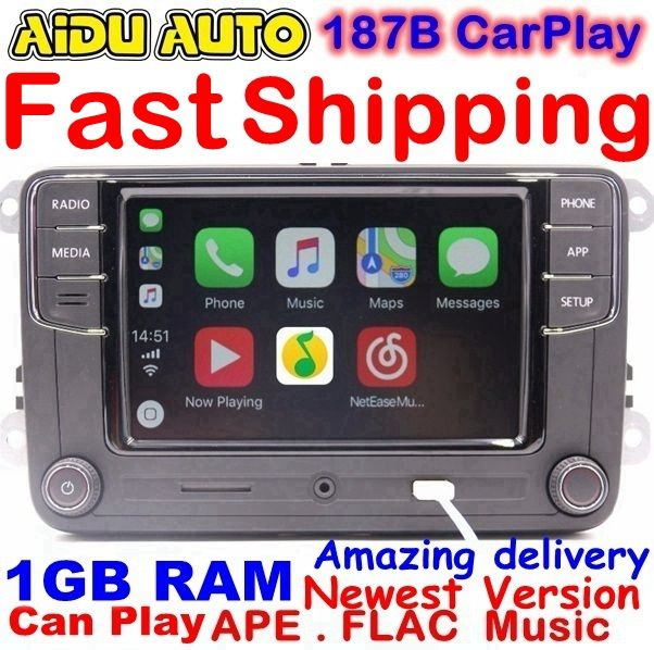 US $149.99 RCD330 Plus CarPlay Radio 1 GB RAM Für VW Golf 5 6 Jetta MK5 MK6 CC Tiguan Passat Polo 6RD 035 187 B 6RD035187B RCD510 RCN210 #Plus #CarPlay #Radio #Für #Golf #Jetta #Tiguan #Passat #Polo