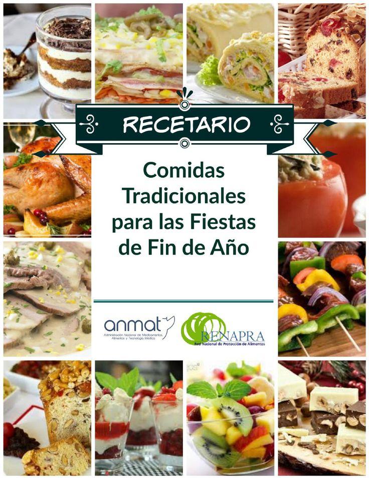 Recetario de platos tipicos festivos by RENAPRA