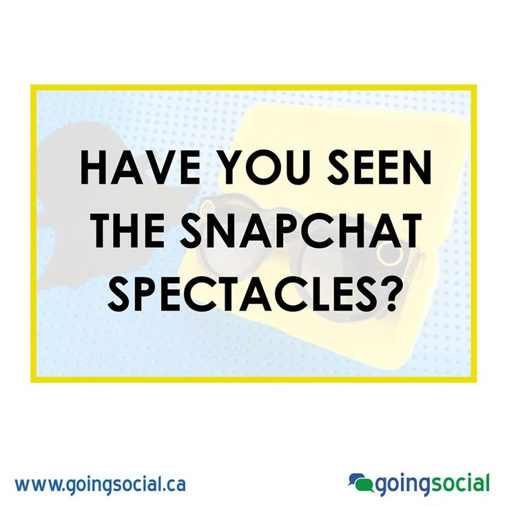 Have you seen the snapchat spectacles? What do you think? Would you buy a pair? Worried about people wearing them in public?   http://wersm.com/snapchats-spectacles-now-available-to-buy-online-in-the-us/?utm_campaign=coschedule&utm_source=facebook_page&utm_medium=We+are+Social+Media&utm_content=Spectacles+Are+Now+Available+For+Everyone+Online