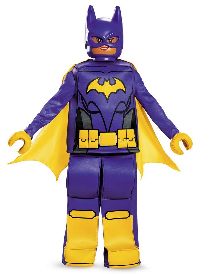 Déguisement prestige Batgirl LEGO® Movie enfant : Ce déguisement de Lego Batgirl™ pour fille est sous licence officielle. Il se compose d'un haut, d'une cape, d'un pantalon, d'un masque et d'une paire de gants. Le...